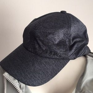 Adidas women's hat charcoal gray